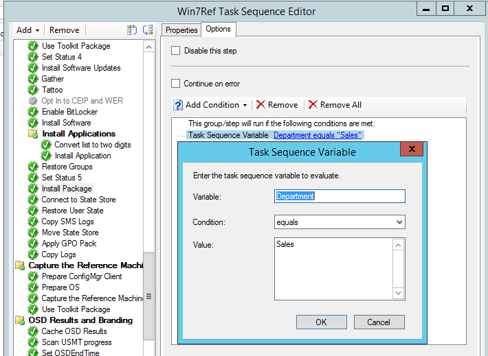 SCCM OSD Task Sequence Variables – A beginners guide | Hayes