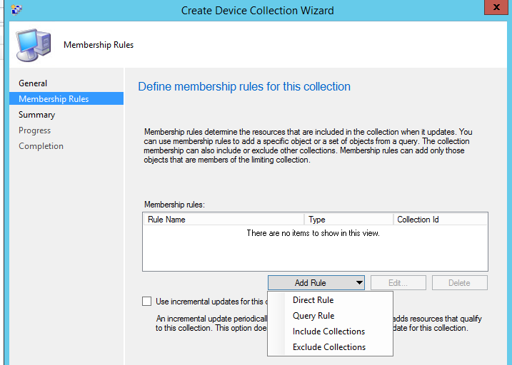 SCCM Collections – The basics | Hayes Jupe's Blog